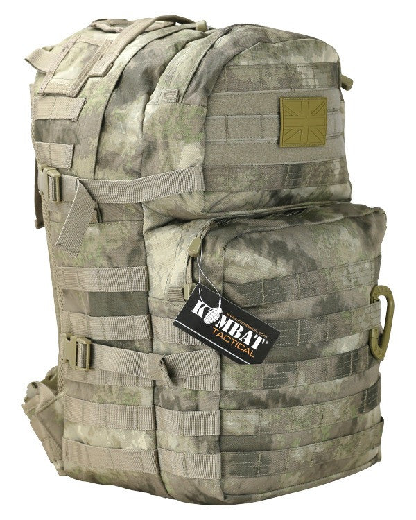 Smudge Kam Medium Assault Pack 40 Litre - Camo Rucksack