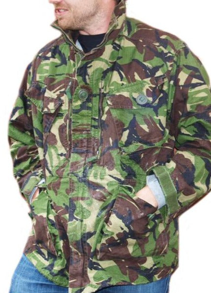 British Soldier 95 DPM Camouflage Jacket - DISTRESSED RANGE