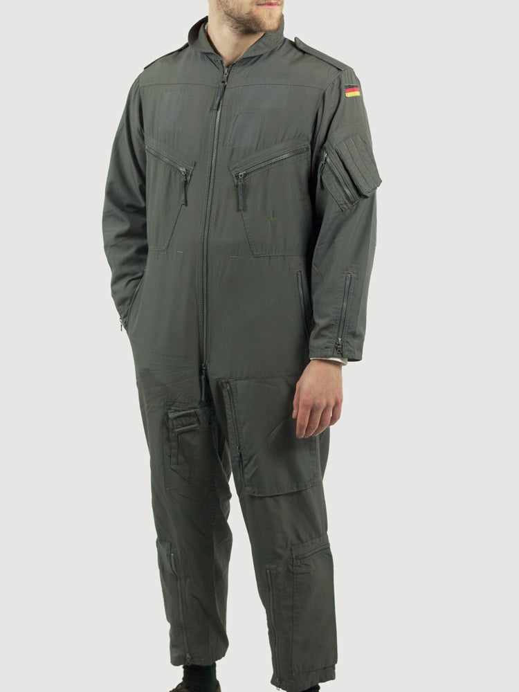 German NATO Flying Suit - Genuine German flight suits - DISTRESSED RANGE