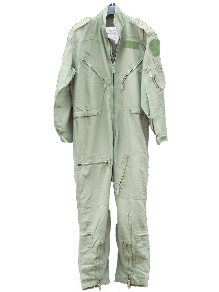 NATO Flying Suit - Dutch Air Force - Sage Green - flame retardant