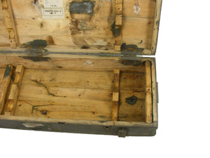 Vintage Wooden Ammo Box - Genuine Soviet Era Military (120 x 40 x 20cm)