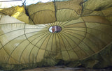 US Military Parachute Canopy 6.7 metre - Green