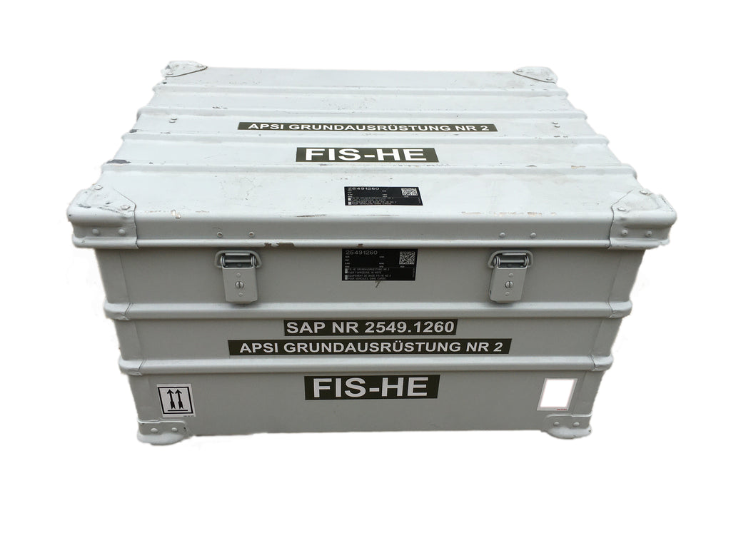 Aluminium Travel Case/EDAK Box - white