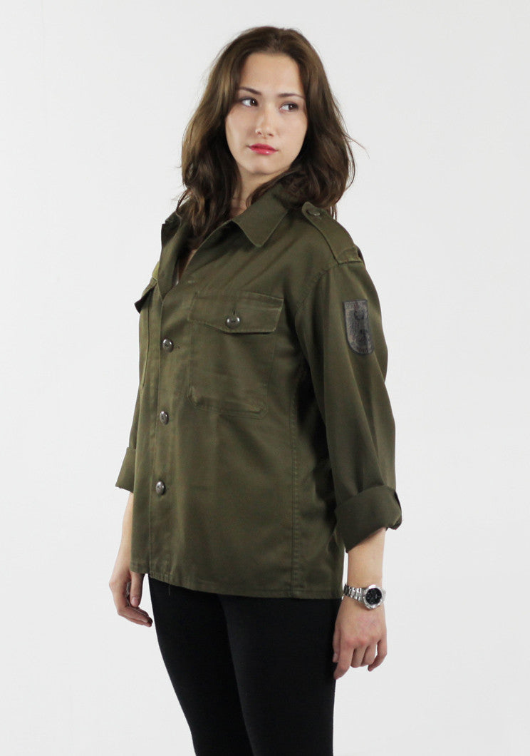 Vintage Women's Army Shirts