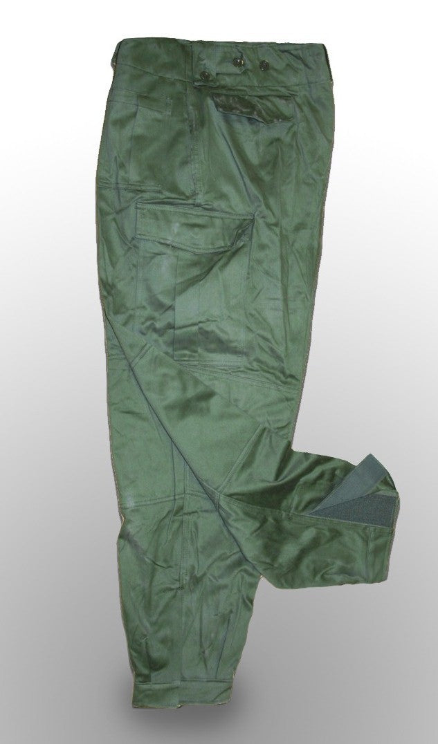Green Combat Trousers - Belgian Army Heavyweights