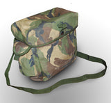 British Army Camo Respirator Shoulder Bag
