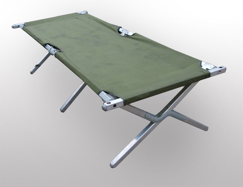 British Folding Army Camp Bed