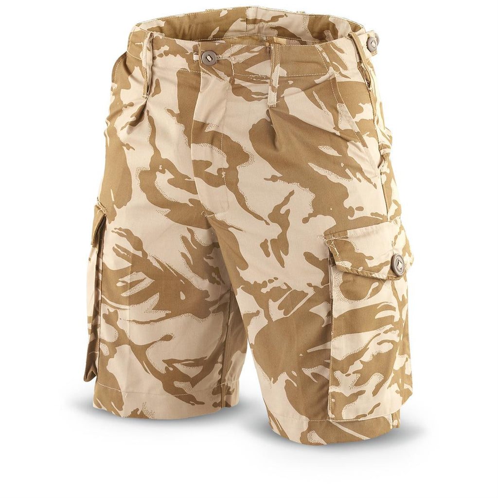 Desert Camo Shorts - British Army Surplus