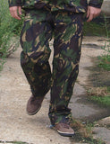 British Army Gore-Tex Trousers - Woodland DPM Camo - elasticated ankle