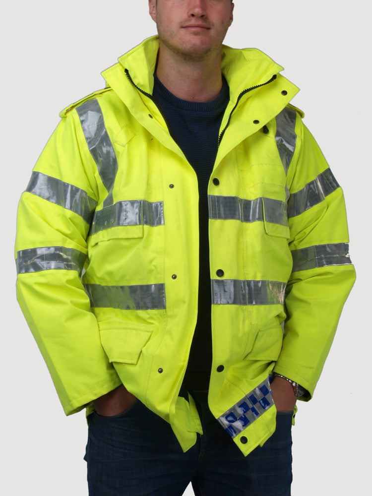 Gore-Tex Hi Vis Jacket - UK Police Safety Coat