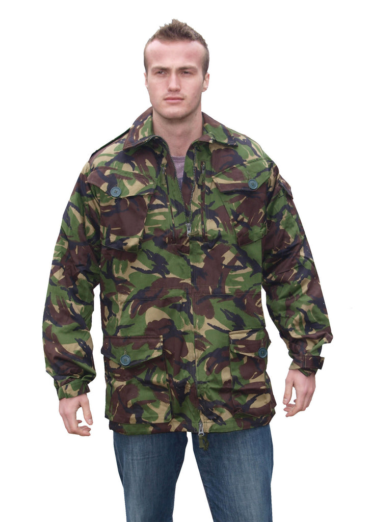 Temperate DPM Camo Jacket - British Army Surplus