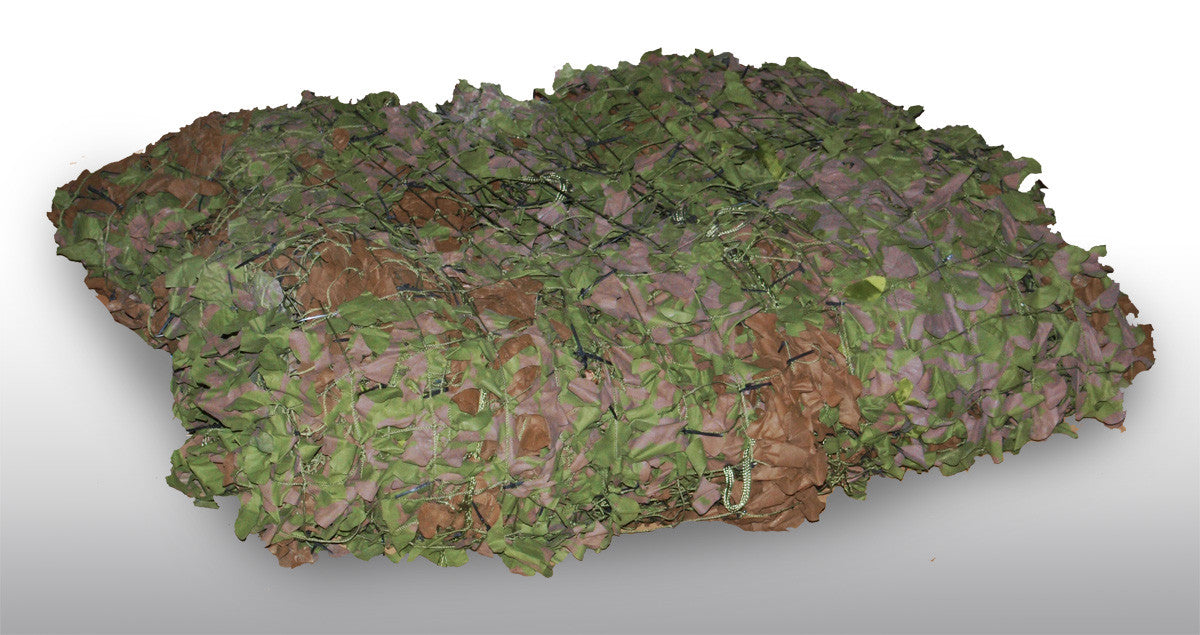 British Army Woodland Camo Net - Large