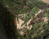 Woodland Green Brown Camouflage Netting - Army Issue