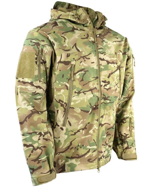 BTP Multicam Shark Skin Soft Shell Jacket - 'Patriot'