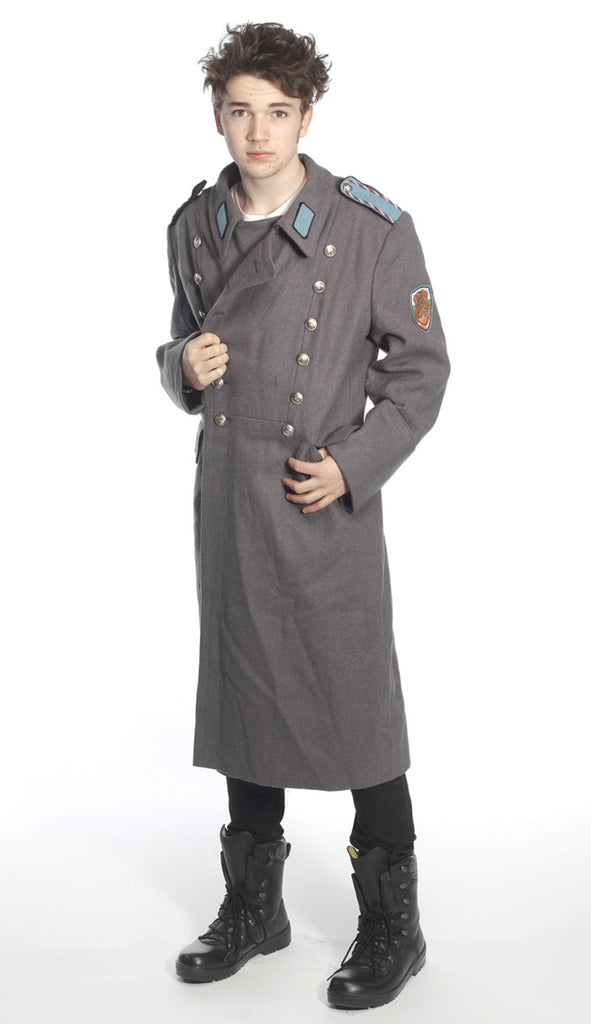 Bulgarian Airforce Officers Grey Wool Greatcoats – Soviet era