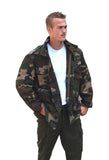 Camo Jacket For Men - Genuine Military M65