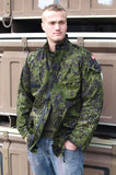 Danish Army M84 Camouflage Jacket - Front