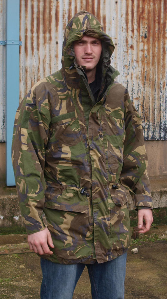 Dutch DPM Camo Gore-tex Parka