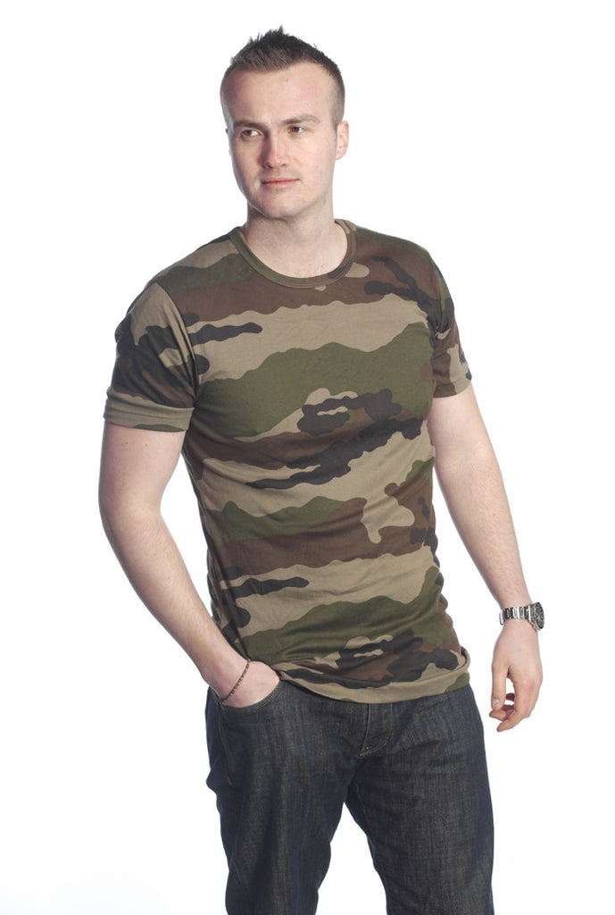 French Army Camo T-Shirt - CCE Camouflage