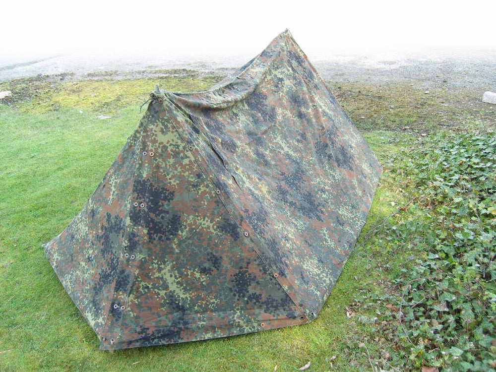 German Army Surplus Pup Tent