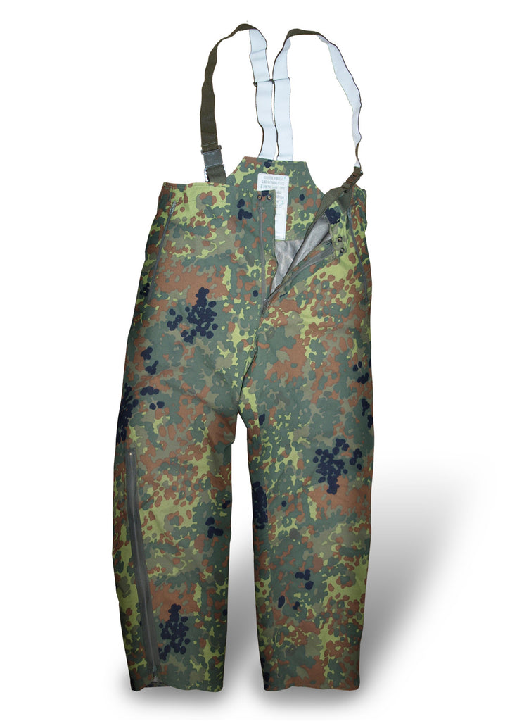 German Flecktarn Camo Gore-tex Trousers