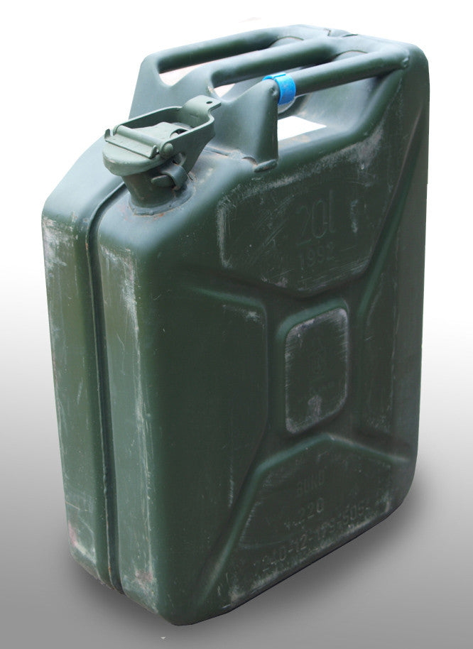 Steel 20 Litre Jerry Can German Army Surplus Used Grade
