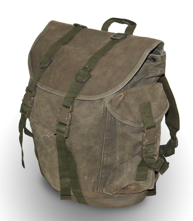 Canvas Military Backpack - German Army Surplus