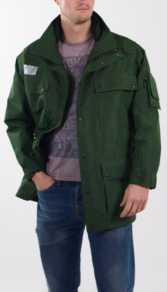 German Police Gore-Tex Jacket - 'Berlin' Green