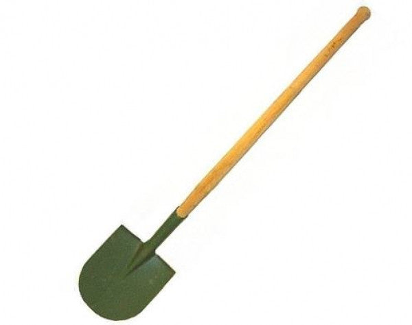 German Pioneer Long Handled Shovel
