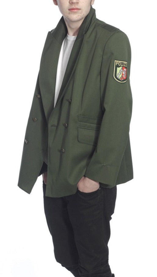 German Police Green Uniform Jacket (Dress Tunic)