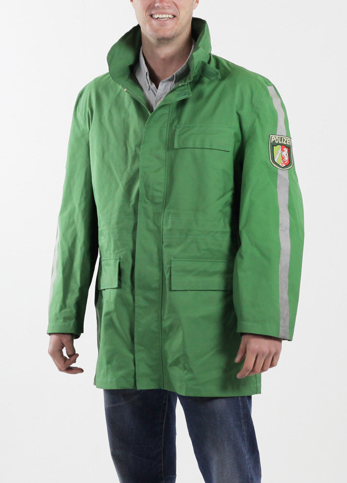 German Police Green Gore-Tex Jacket