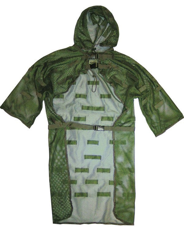 Camouflage Elasticated Concealment Vest/Ghillie Suit