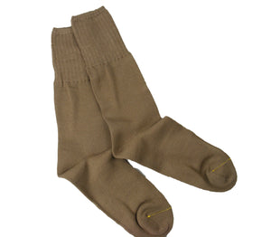 Italian Army Socks - Tan Colour - Wool rich - Unissued - Multipack of 3