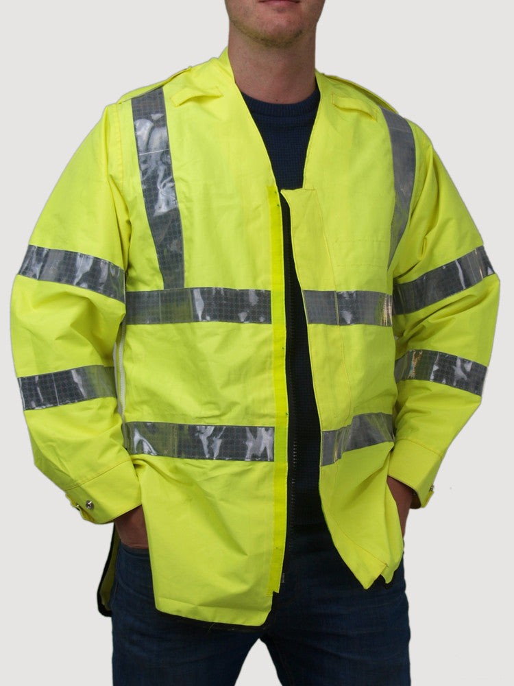Waterproof Hi Vis Jacket / Vest - UK Police