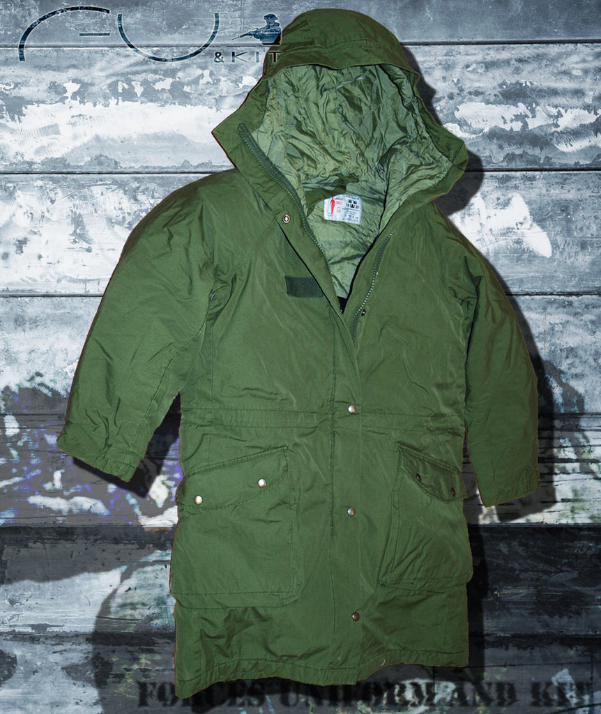Swedish M90 Cold Weather Parkas - Fixed Hood