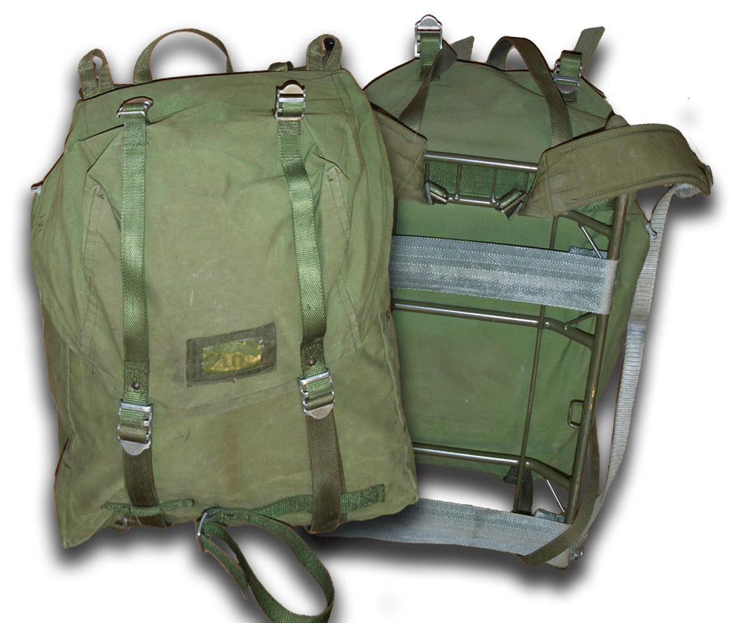 Military Backpack - Swedish Metal Framed Rucksack