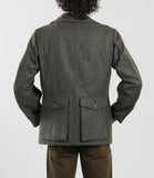 Wool Jacket - Rear 'Poachers' Pockets
