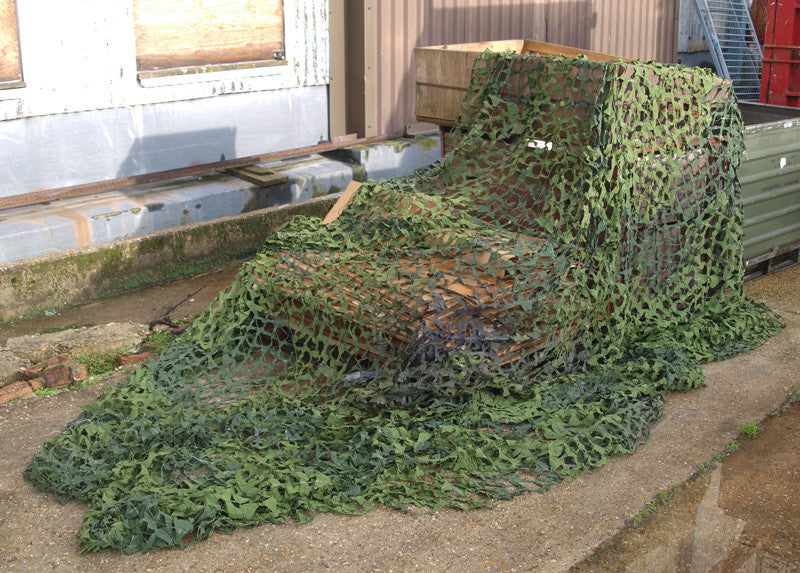 Large Military Camo Net 5x5m - Swedish Army Surplus - Barracuda