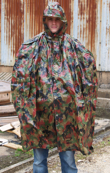 So Cal Clothing >> Swiss Army Poncho - Alpenflage | Forces Uniform and Kit