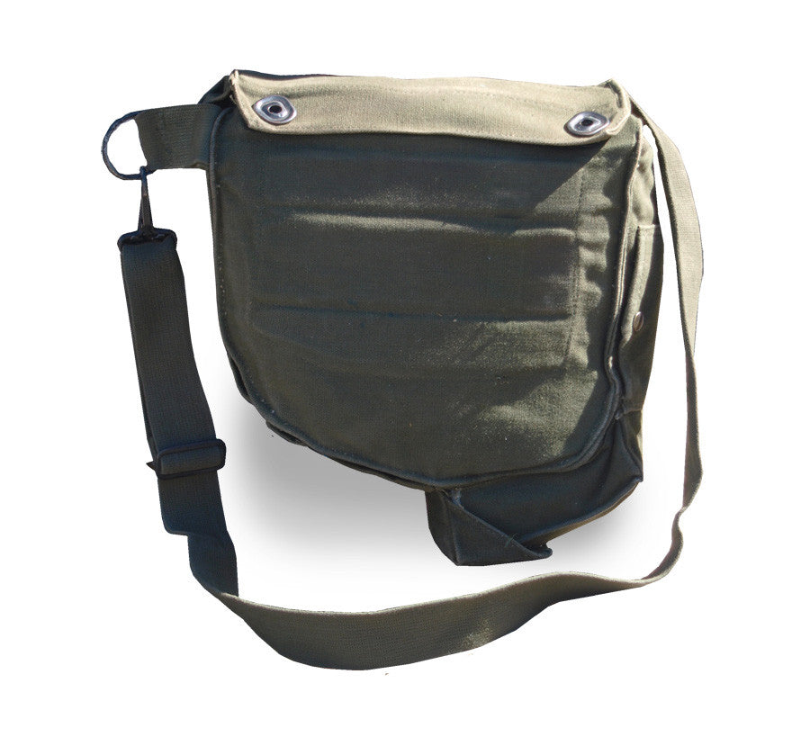 US Army Shoulder Bag - Canvas Gas Mask Bags