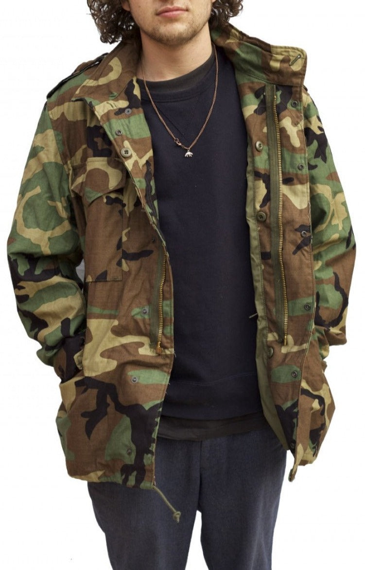 Woodland Camo M65 Jackets - Genuine US Army Surplus