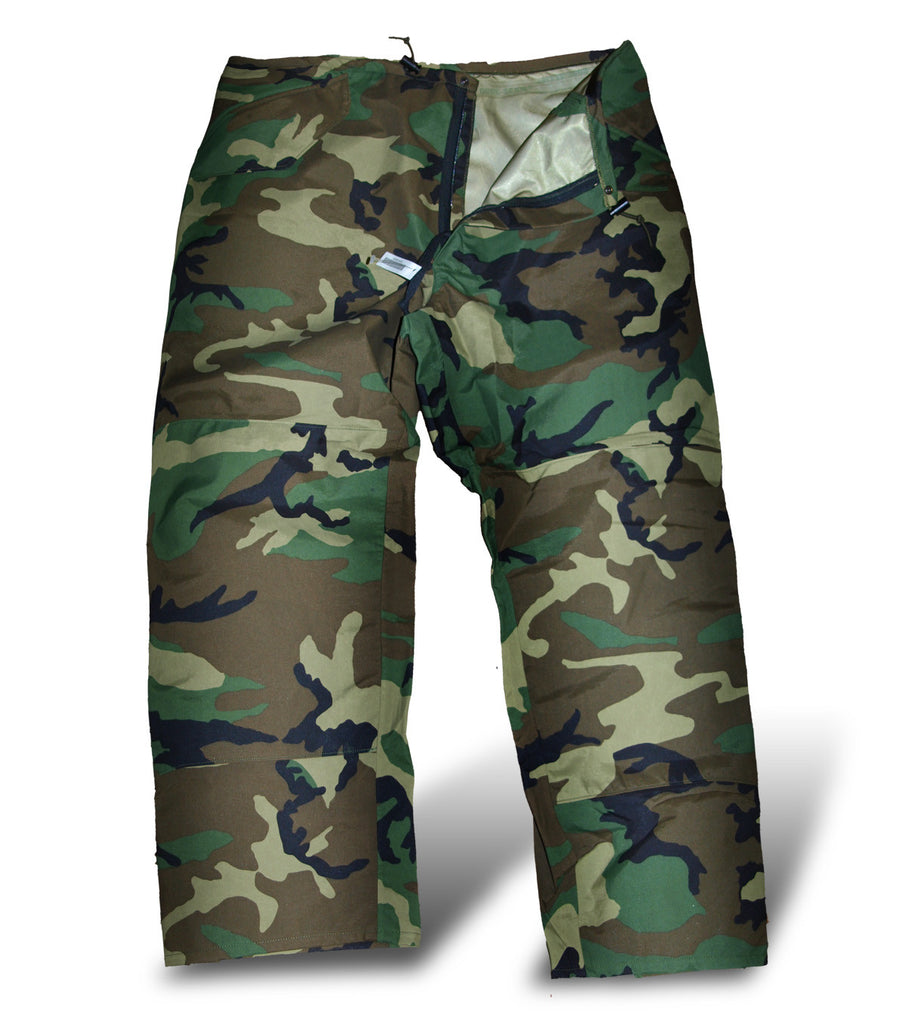 US Army Woodland Camo Gore-Tex Trousers - Genuine US Army Surplus