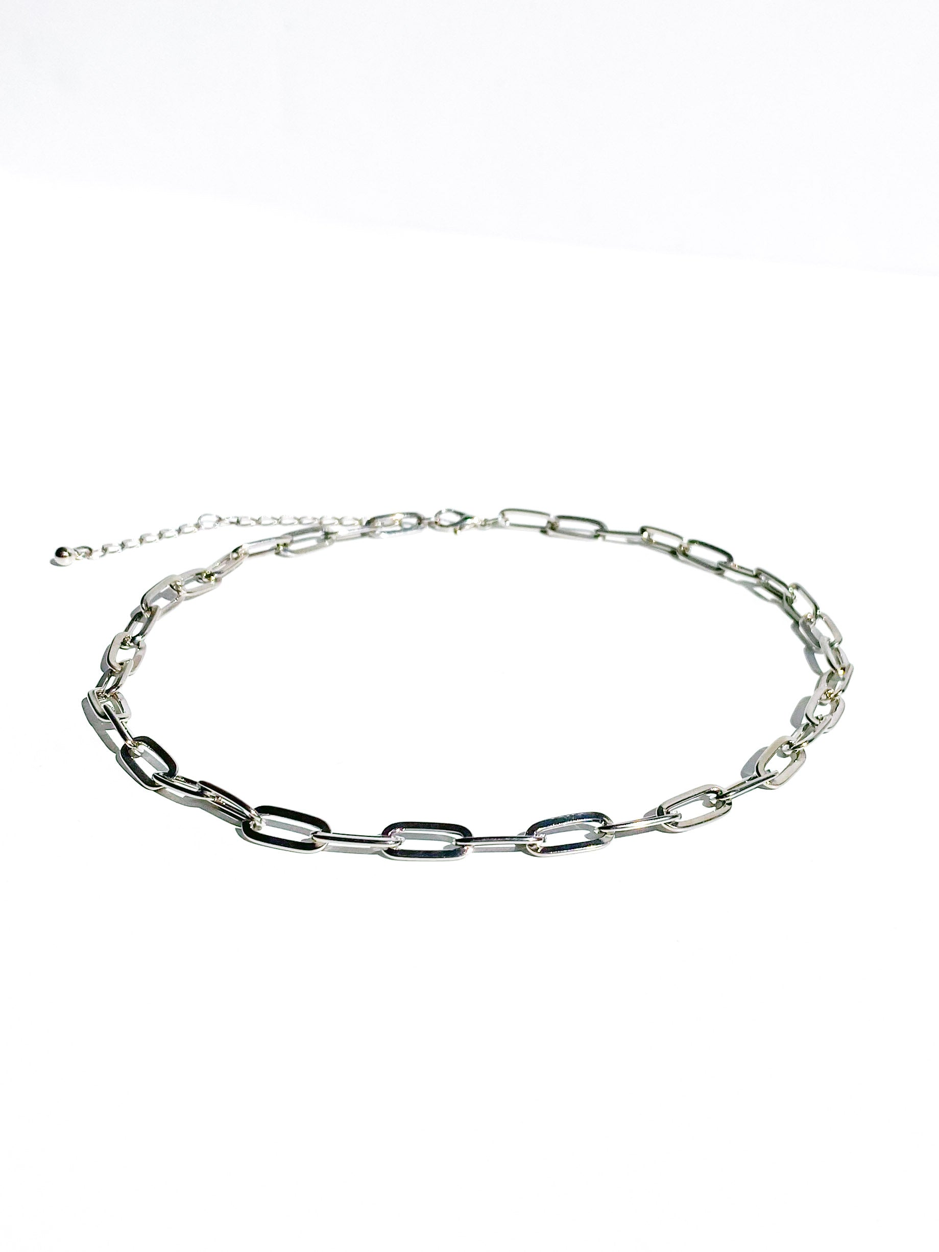 Silver Petite Chain Necklace
