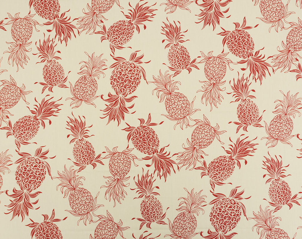 CT-007R3 Cream/Red - TrendtexFabrics