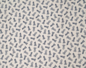 CT-007R Mini Cream/Navy - TrendtexFabrics
