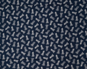 CT-007R Mini Navy/Cream - TrendtexFabrics