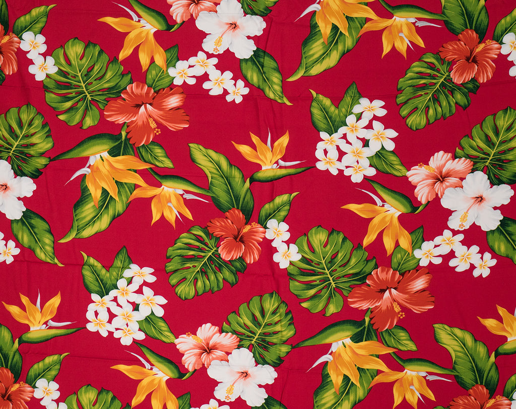 GD-003 Red - TrendtexFabrics