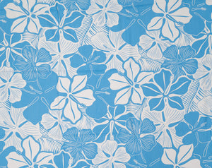 GH-005 Lt. Blue - TrendtexFabrics Monotone Pareo Styled Florals