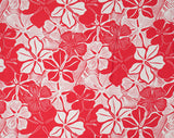 GH-005 Red - TrendtexFabrics Monotone Pareo Styled Florals