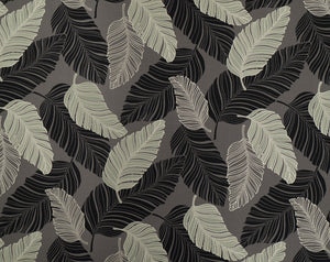 Monotone Banana Leaf Patterns